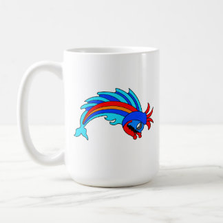 Fancy Fish Basic White Mug