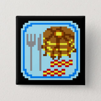 Fancy Flapjacks 15 Cm Square Badge