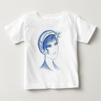 Fancy Flapper In Blues Infant T-Shirt