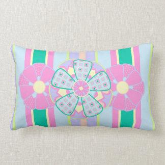 Fancy Floral Pillow - Stripe