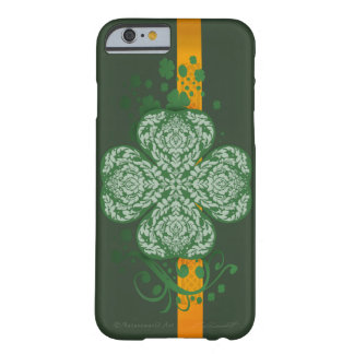 Fancy Four Leaf Clover iPhone 6 Barely There Case Barely There iPhone 6 Case
