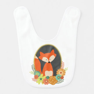 Fancy Fox Baby Bib