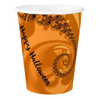 Fancy & Fun Fractals With Cool Mandala Patterns Paper Cup
