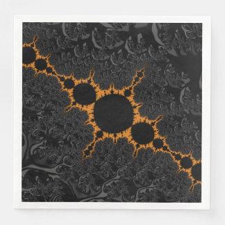 Fancy & Fun Fractals With Cool Mandala Patterns Paper Serviettes