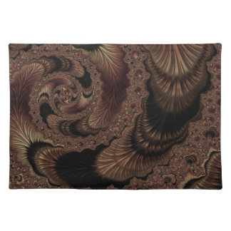 Fancy & Fun Fractals With Cool Mandala Patterns Placemat