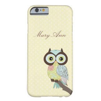 Fancy Funky Owl iPhone 6 case Barely There iPhone 6 Case