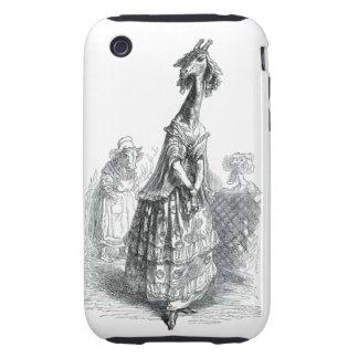 Fancy Giraffe iPhone 3 Tough Cases