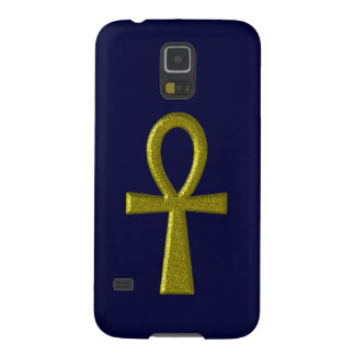 Fancy Gold Ankh Galaxy S5 Case