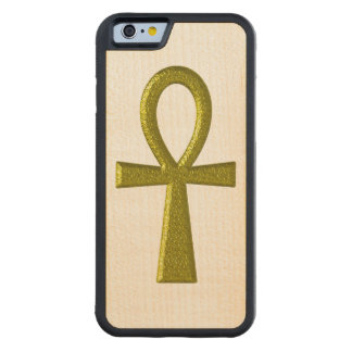 Fancy Gold Ankh Maple iPhone 6 Bumper Case