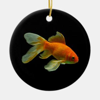 Fancy Goldfish Christmas Ornament