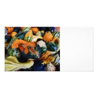 Fancy Gourds Customised Photo Card