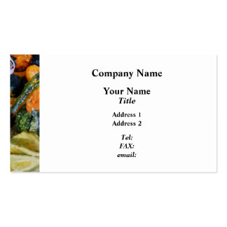 Fancy Gourds Pack Of Standard Business Cards