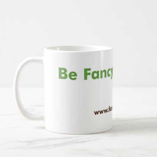 Fancy Green Ceramic Mug