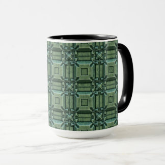 Fancy Green Coffee Mug by Julie Everhart