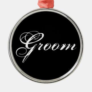 Fancy Groom Ornament