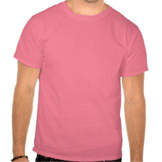 Fancy Guitar Star Swirls Men's Tee, Pink