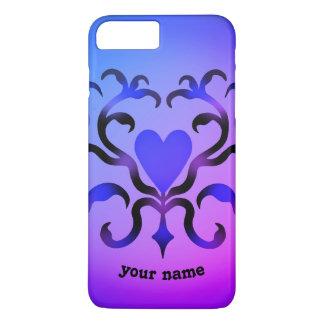 Fancy heart design iPhone 8 plus/7 plus case