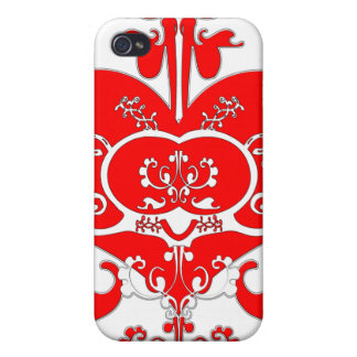 Fancy Heart iPhone 4/4S Cover