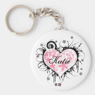 Fancy Heart Key Chain