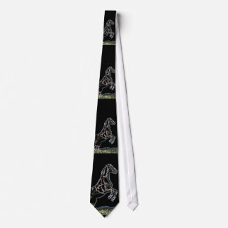Fancy Leaping Horse Tie