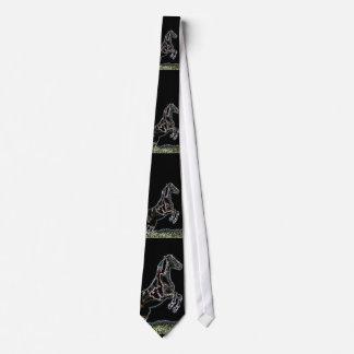 Fancy Leaping Horse Tie