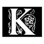 Fancy Letter K
