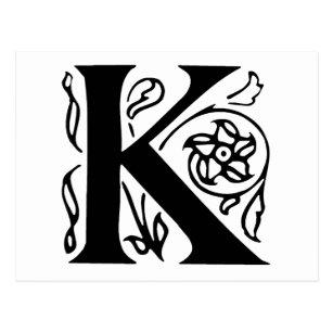 Fancy Letter K Gifts Gift Ideas Zazzle Uk