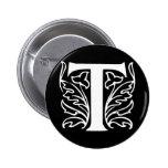 Fancy Letter T Pin