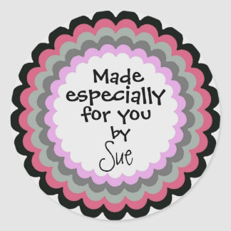 Fancy Made by YOU custom stickers
