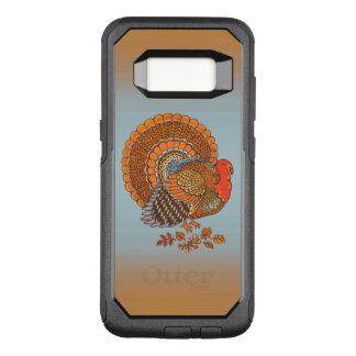 Fancy Male Turkey Autumn Colors Tail Spread OtterBox Commuter Samsung Galaxy S8 Case