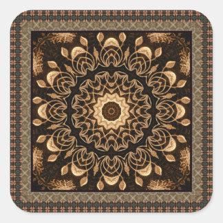 Fancy Mandala Square Sticker