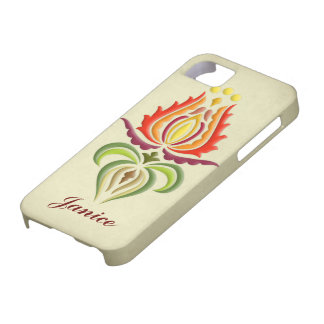 Fancy Mantle Embroidery - Hungarian Folk Art Barely There iPhone 5 Case