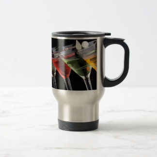 Fancy Martinis Stainless Steel Travel Mug