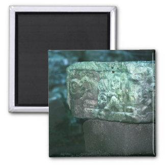 Fancy Mayan Ruins Photo Designed Refrigerator Magnet