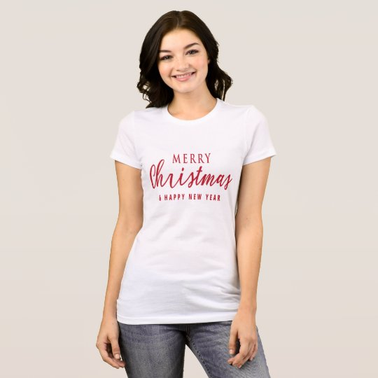 Fancy Merry Christmas And Happy New Year T-Shirt