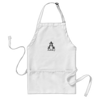 Fancy Monogram: Ashley Standard Apron