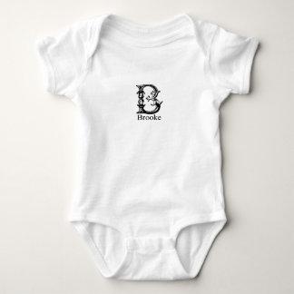 Fancy Monogram: Brooke Tshirts
