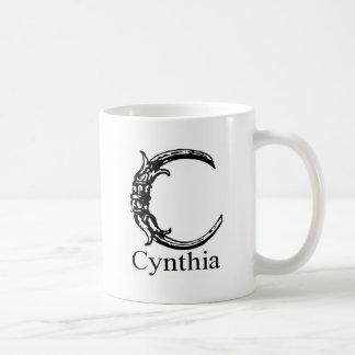 Fancy Monogram: Cynthia Coffee Mug