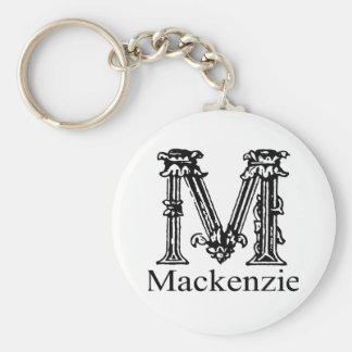 Fancy Monogram: Mackenzie Key Ring