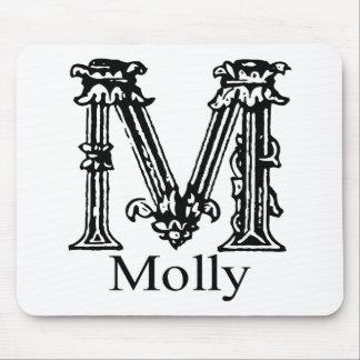 Fancy Monogram Molly Mousepad