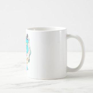 Fancy Mr Narwhal Coffee Mug