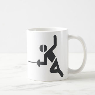 Fancy Mug with fencing symbol