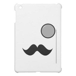 Fancy Mustache & Monocle Cover For The iPad Mini