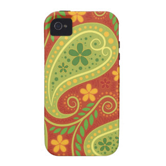 Fancy Paisley iPhone 4 Cases