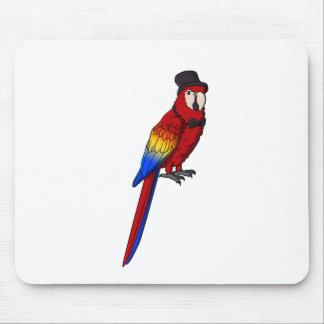 Fancy Parrot Mouse Pad