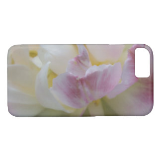 Fancy Pink and White Tulip iPhone 8/7 Case