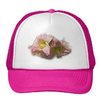 Fancy Pink Daylilies Hats