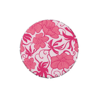 Fancy Pink Floral jpg Jelly Belly Tins