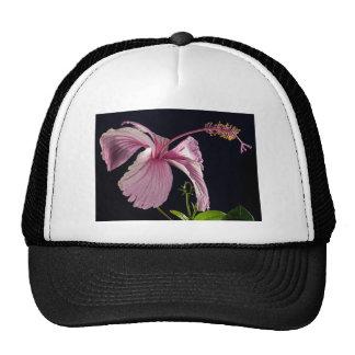 Fancy Pink Flowers Blossoms Shower Wedding Bridal Mesh Hats
