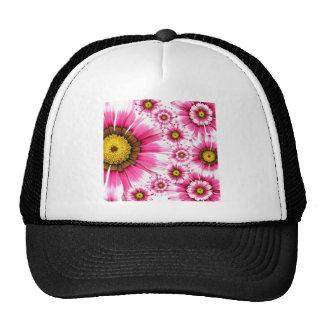 Fancy Pink Flowers Hat